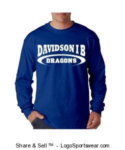 Adult unisex royal long sleeve mascot t Design Zoom