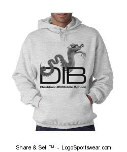 Unisex adult pullover sweatshirt in light grey Design Zoom